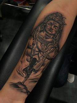 shiva tattoo mahadev
