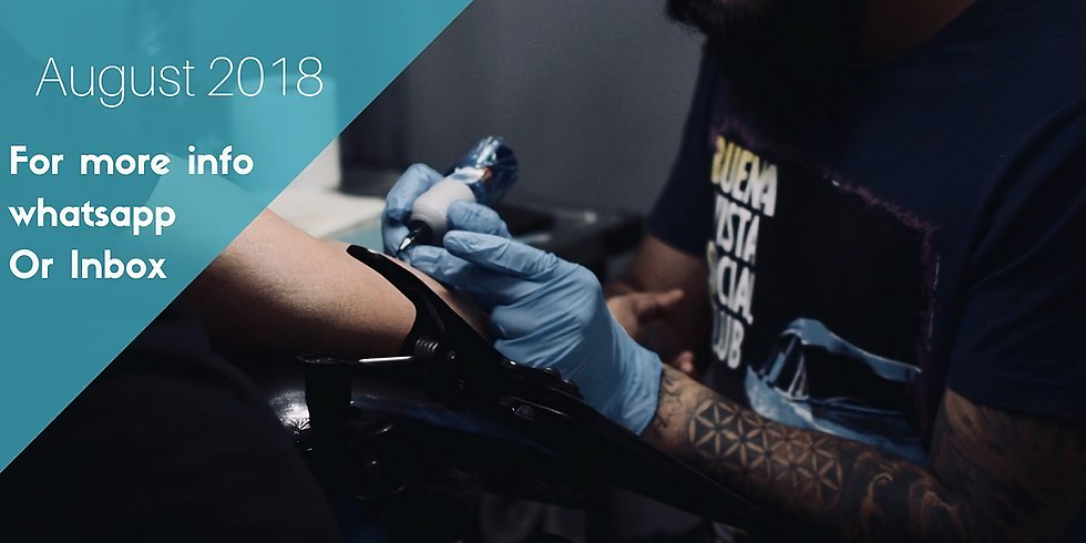 Tattoo in Mauritius - August