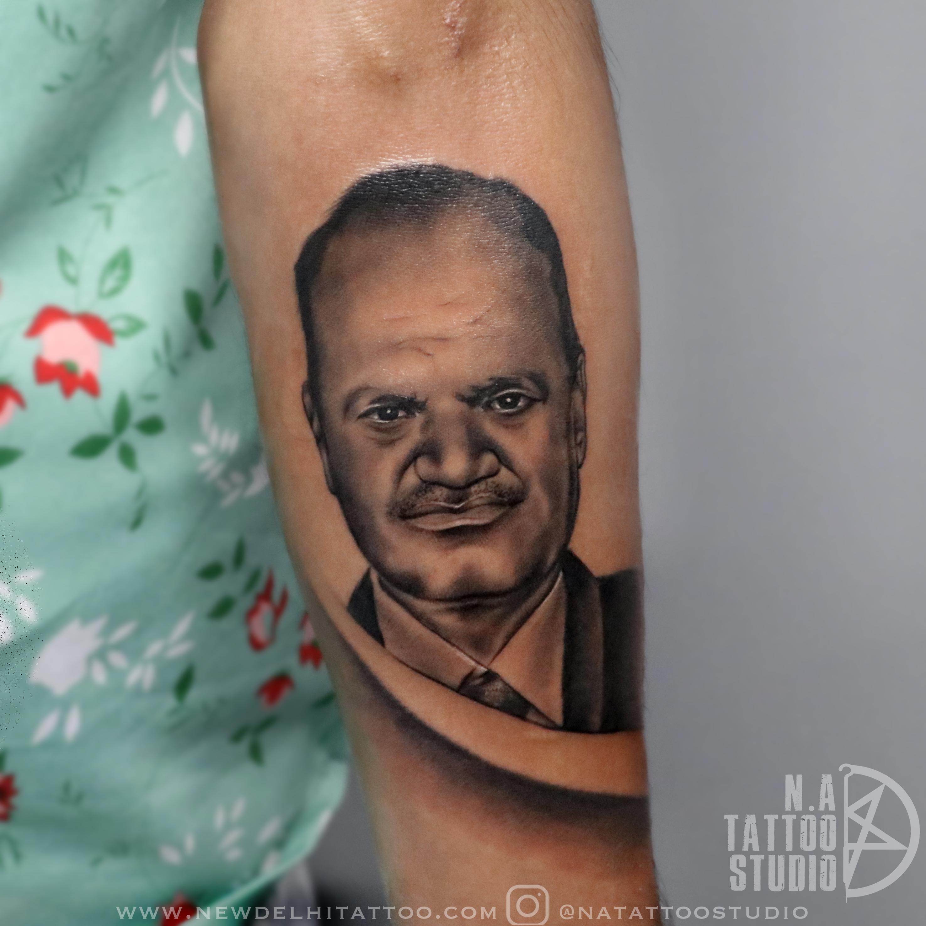 portrait tattoo delhi