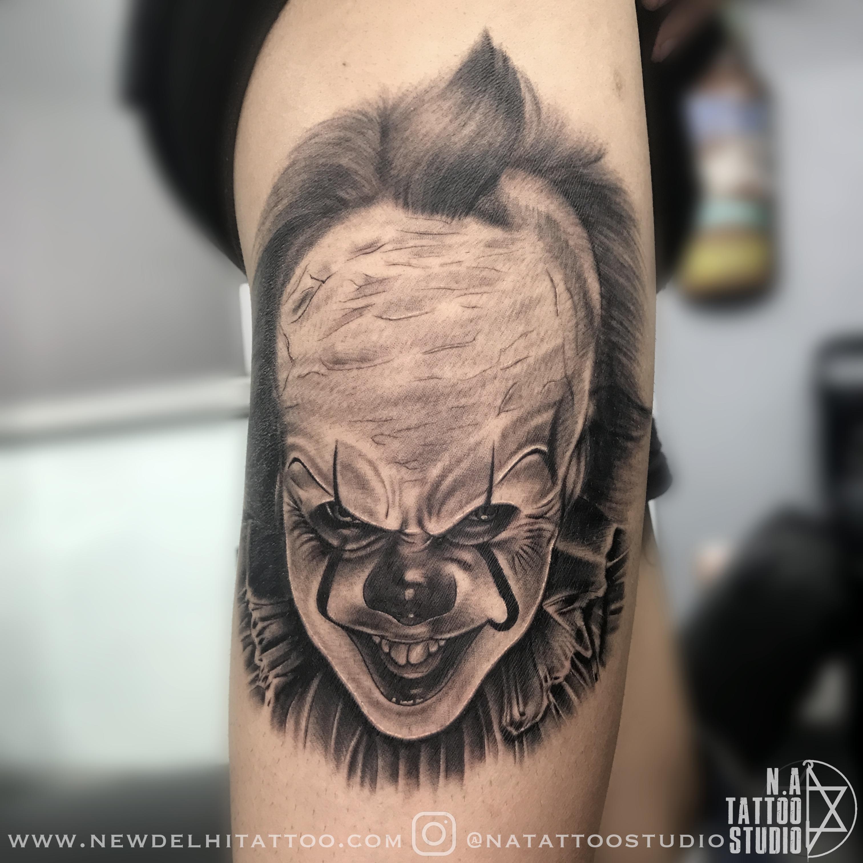 pennywise-tattoo-newdelhitattoo