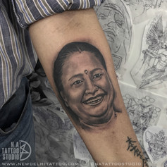 mother portrait tattoo natattoostudio
