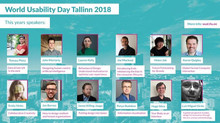 World Usability Day, Tallinn, 2018