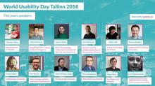 World Usability Day, Tallinn, 2018