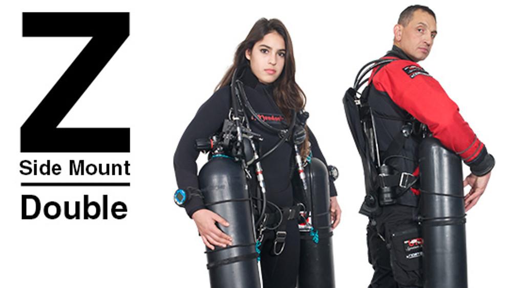 UTD Co-Founder Andrew Georgitsis wearing the UTD Z-System.   Photo by Randy Tay.