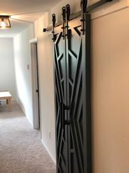 Geometric Double Doors