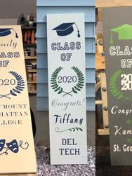 12x48 Graduation Porch Signs