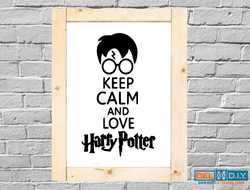 Keep Calm and Love Harry Potter