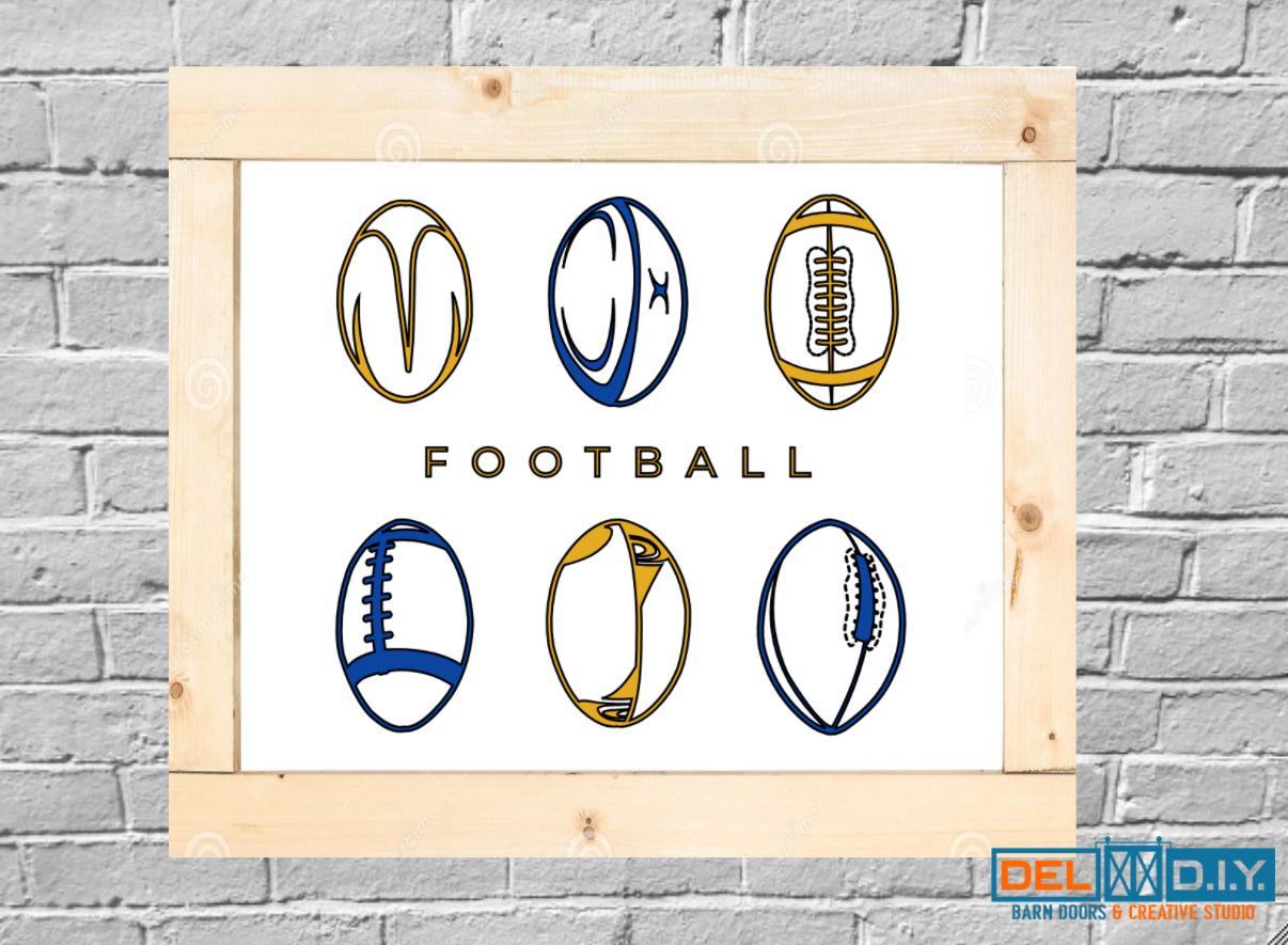 Six Footballs