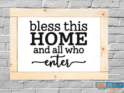 Bless this home...