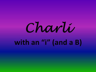"""Charli with an """"i"""" (and a B)"""