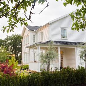 Klassisches New England Haus