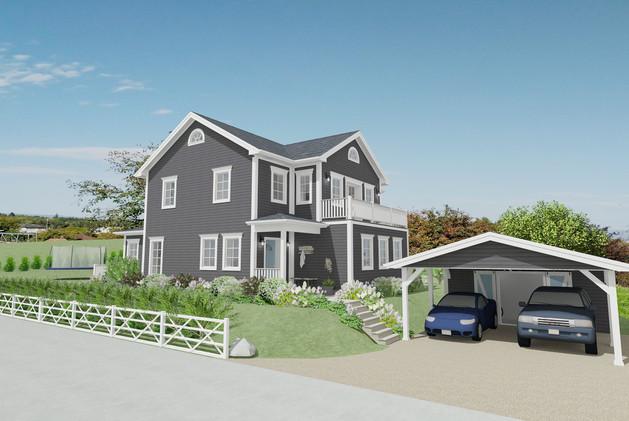 New England Haus im Seeland, Kt. BE