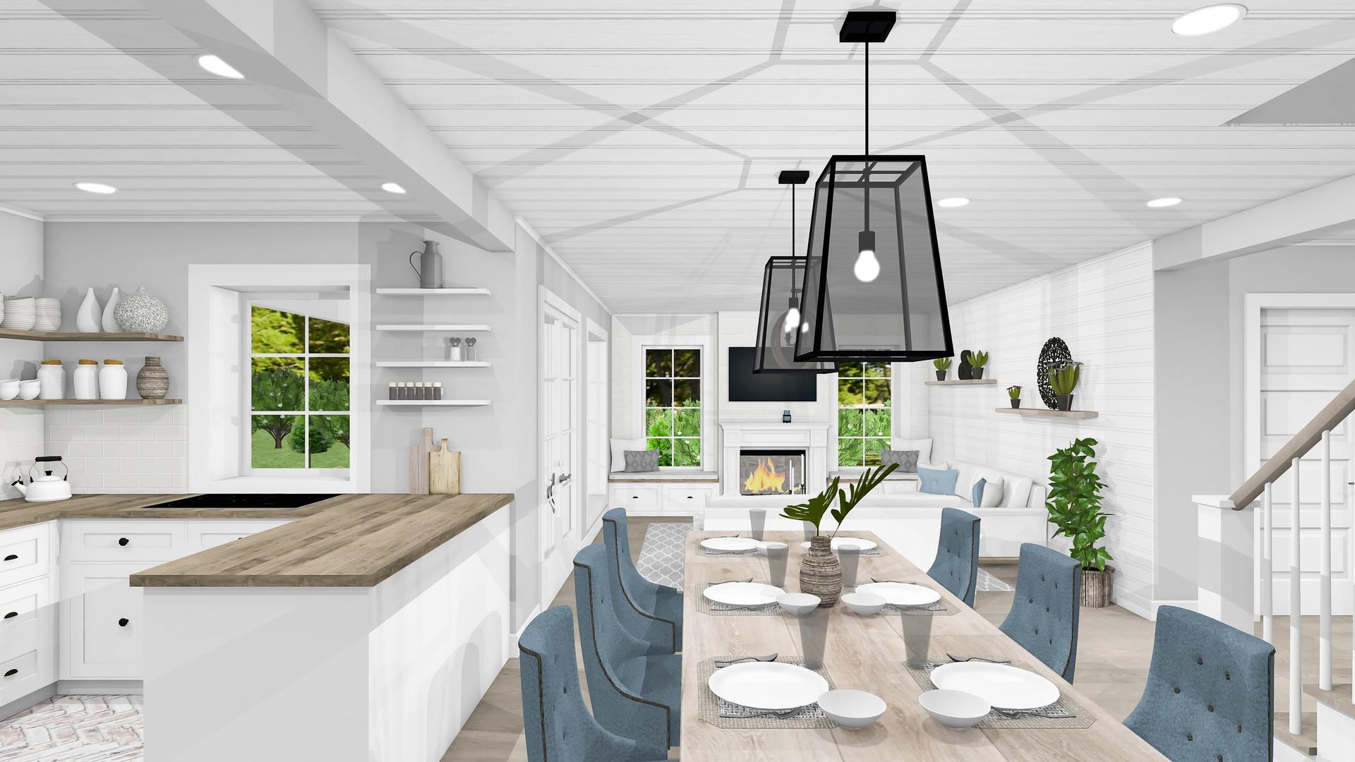 Küche und Essen