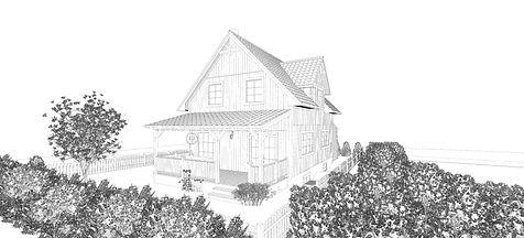 Schwedenhaus Illustration