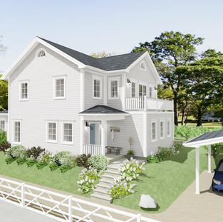 New England Haus im Seeland
