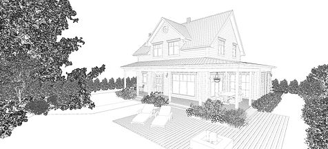 Farmhouse Illustration
