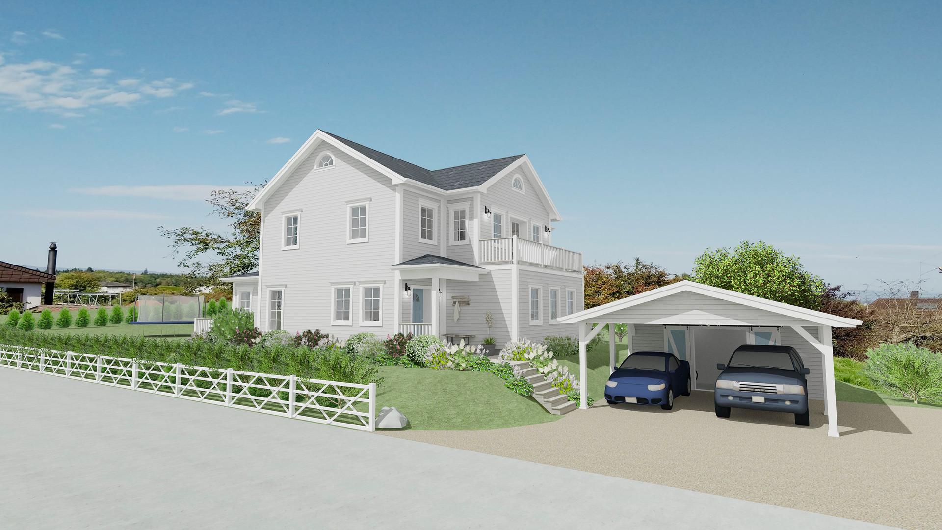New England Haus, Nordost