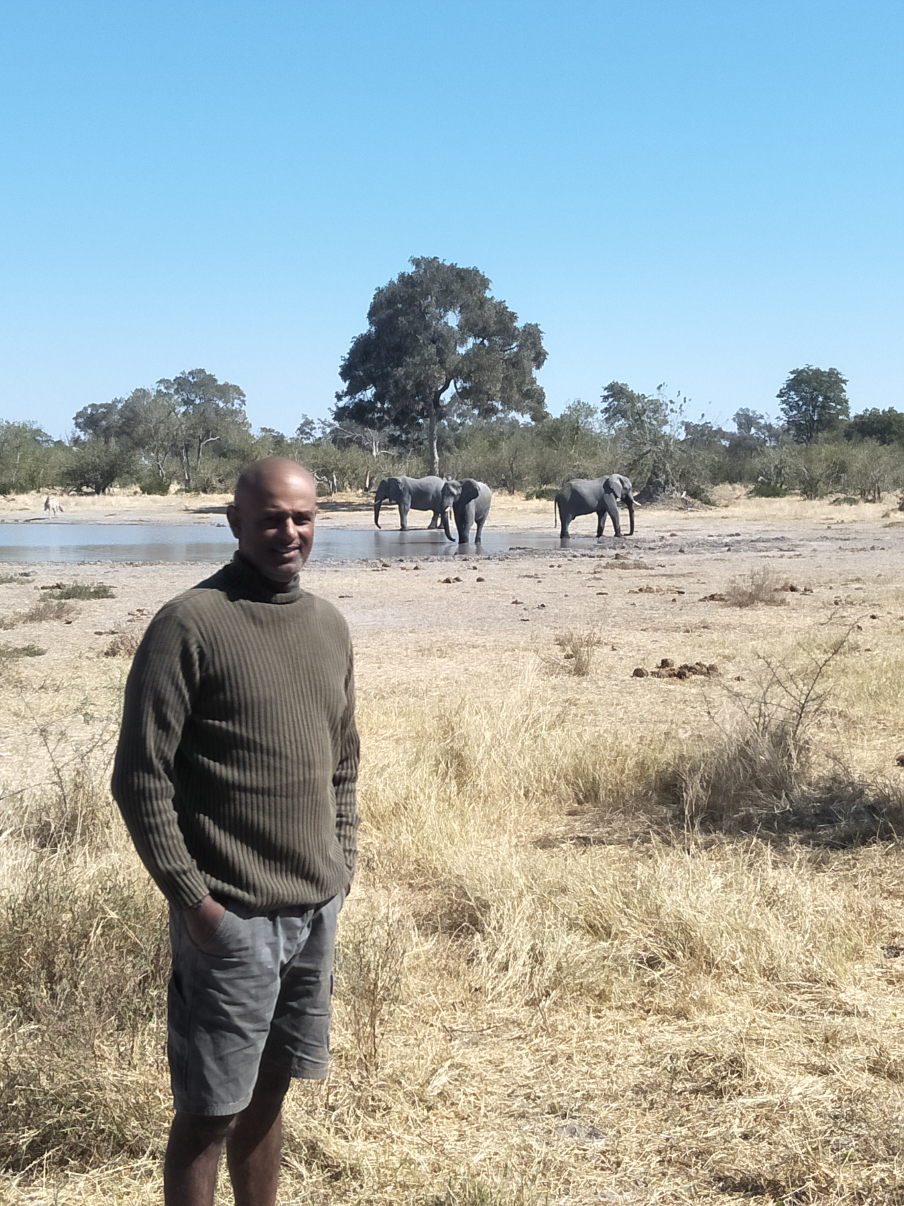 MJ with Moremi elephants.jpg