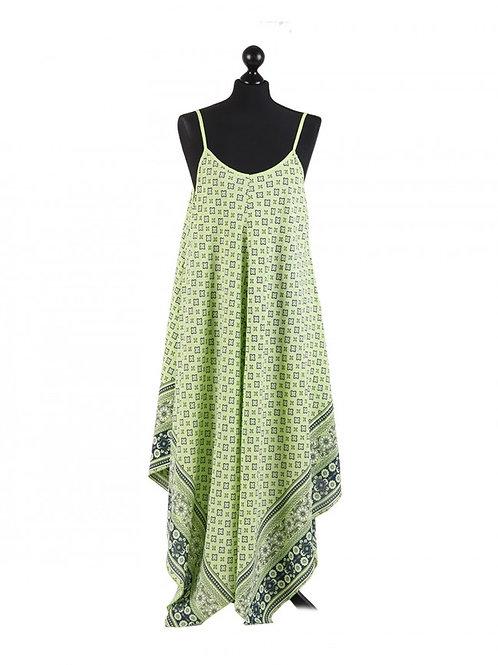 Italian Strappy Dress