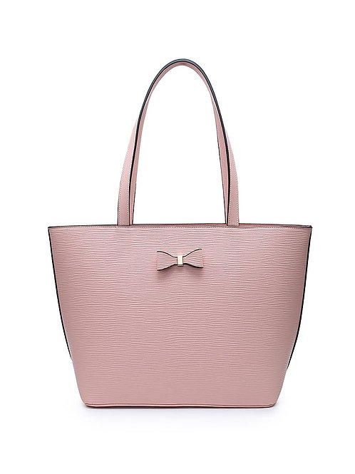 Large Tote Bag with Bow