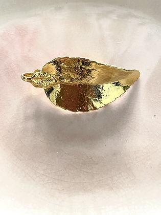 Broche dorée vintage