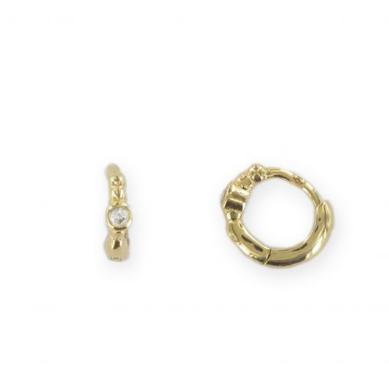 Minis créoles (piercing)