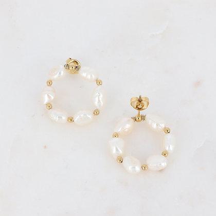 Boucles Perles d'eau douce