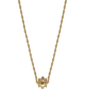 Collier amulette multi-pierres PANAREA
