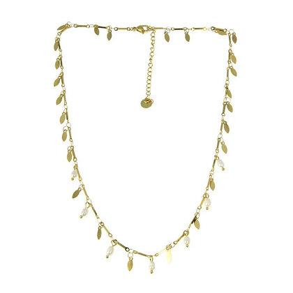 Collier breloques et perles