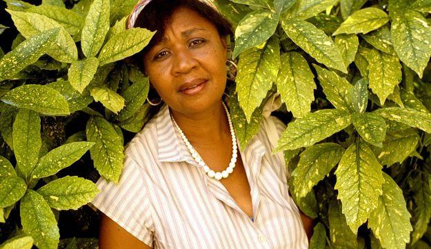 Photo of author Jamaica Kincaid.