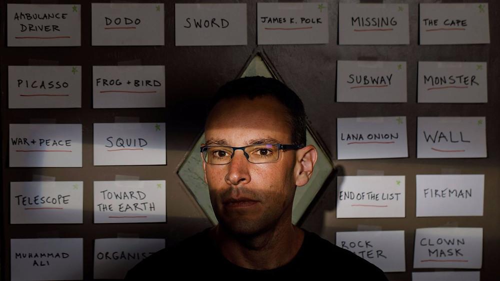 Photo of author Ben Loory.