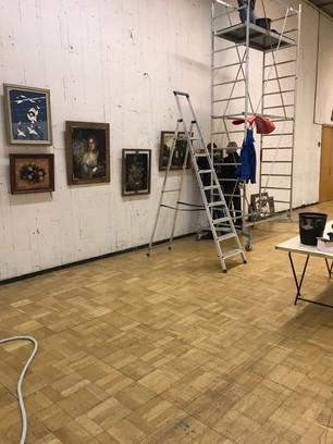Выставка в Центральном Доме Художников (теперь Новая Третьяковка)