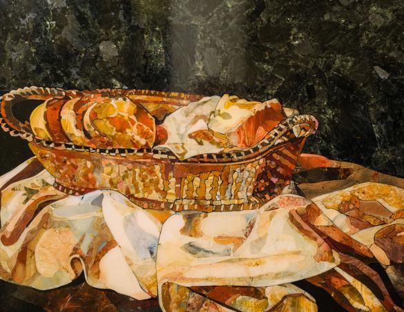 Корзина с хлебом