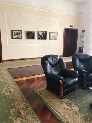 Выставка в Доме правительства, приемная Главы  Республики Коми. 2019 г.