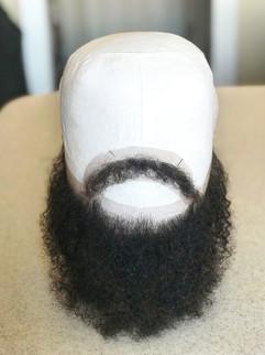Custom Lace Mustache/Beard