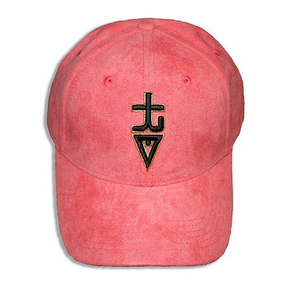 """tREv """"The Success"""" Hat - Salmon Suede"""
