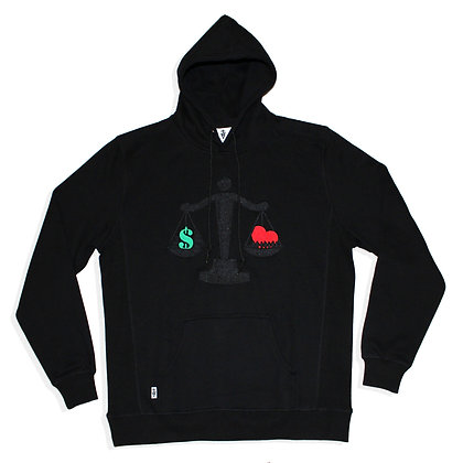 Blacked Out Balance Hoodie (PRE-SALE)