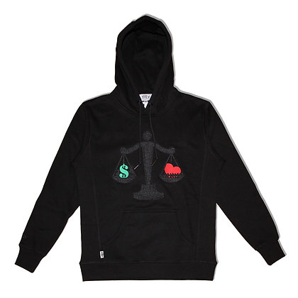 Blacked Out Balance Hoodie