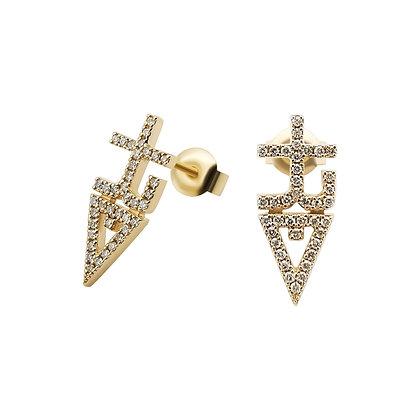tREv Diamond Earrings