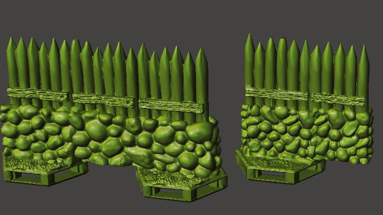 Fort Pack (Digital 3D Print Files)