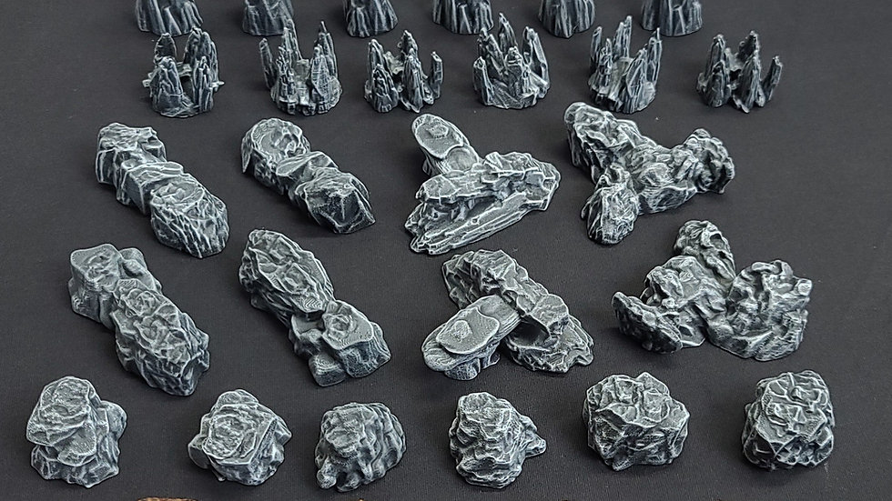 Cave Overlay Pack (Digital 3D Print Files)