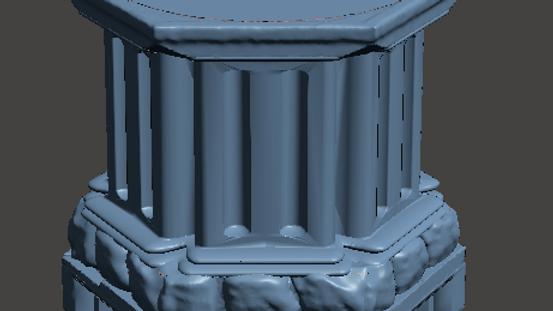 Statue Plinth Pack (Digital 3D Print Files)