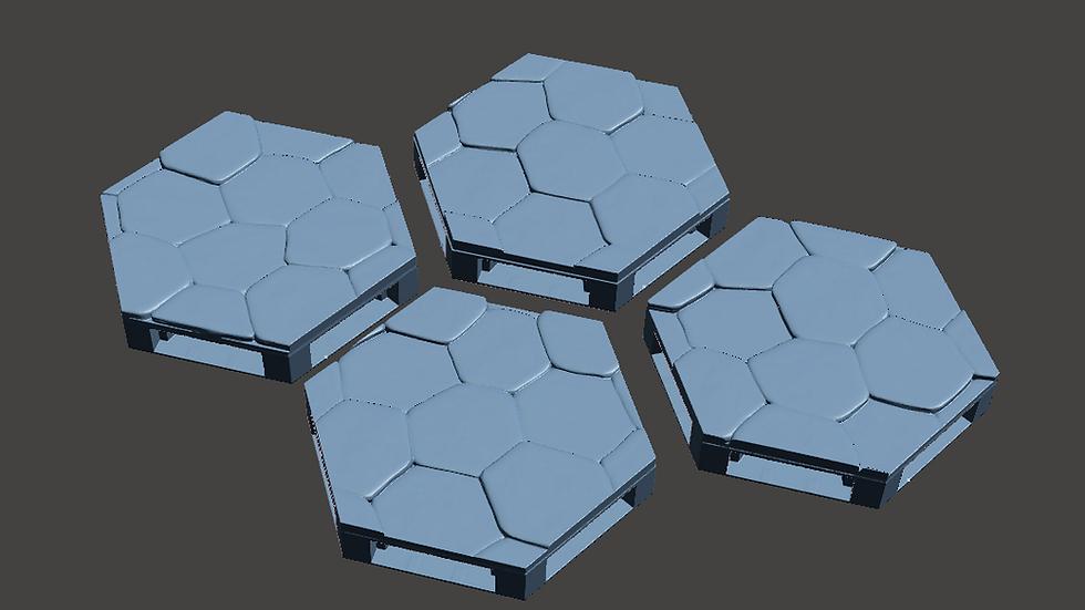 Dungeon Floor Hexes (Digital 3D Print Files)