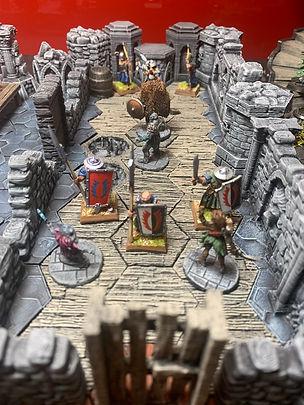 Painted Gloomhaven Terrain