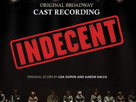 INDECENT original cast recording!
