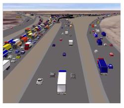 Dhahran Corridors Dynasim Model