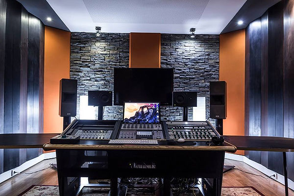 Professional mastering studio