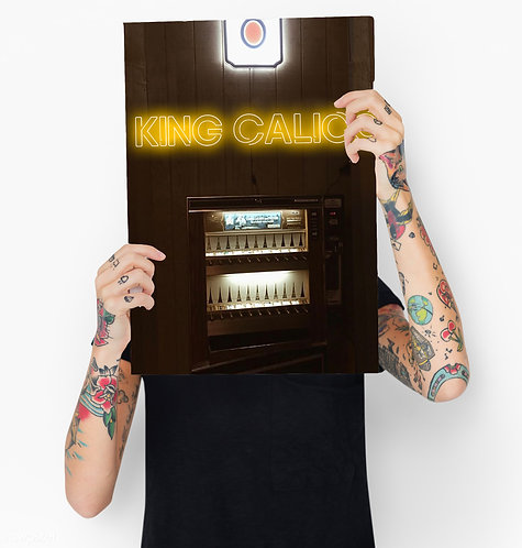 King Calico Poster