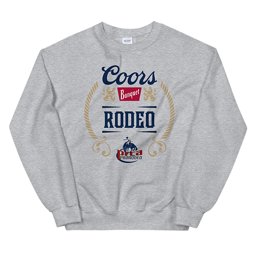 Unisex Coors Rodeo Crewneck