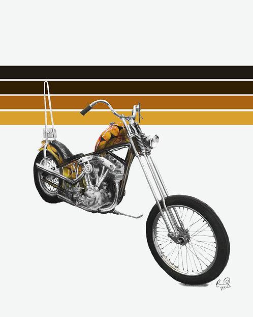 Bronsonville Custom Cycles - Retro Straight